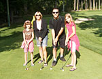family golfing memeories at cultus lake