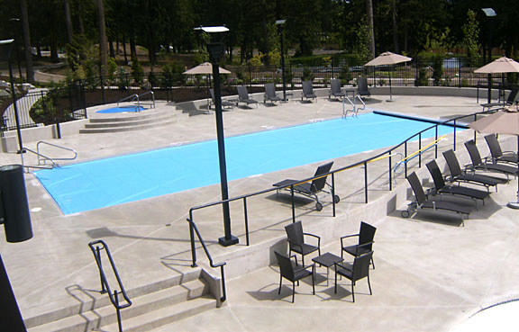 Games at cultus lake cottages and cabin rentals and for Swimming pool poker